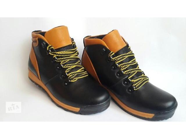 продам Зимові підліткові черевики Timberland зроблені з високоякісної  натуральної шкіри. бу в Україні 4863c8caa25d6