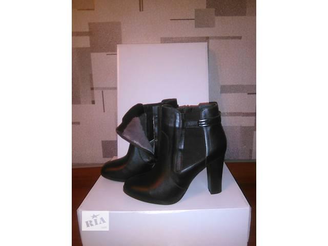 Зимние женские ботинки из натуральной кожи- объявление о продаже  в Одессе