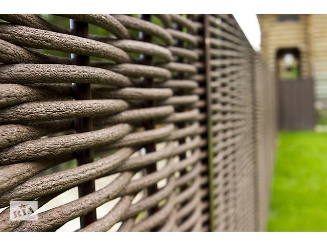 продам Лоза искусственная для плетения забора, изгороди  D18мм бу