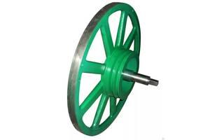 Проточка и балансировка пилорамных колёс пильных шкивов