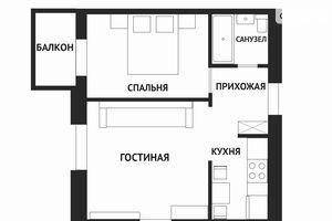 Продается 2-комнатная квартира 50.7 кв. м в Харькове