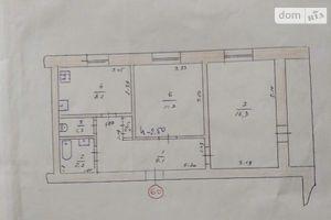 Продается 2-комнатная квартира 52 кв. м в КрасныйЛимане