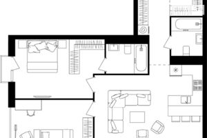 Продается 2-комнатная квартира 75.17 кв. м в Львове