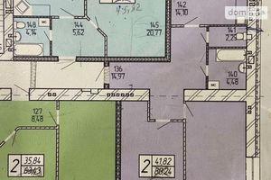 Продается 2-комнатная квартира 89 кв. м в Житомире