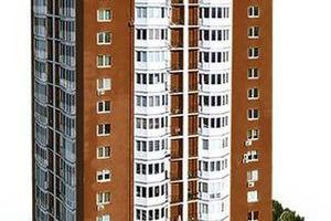 Продается 1-комнатная квартира 43 кв. м в Черкассах