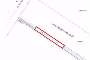 Продается земельный участок 12.34 соток в Запорожской области