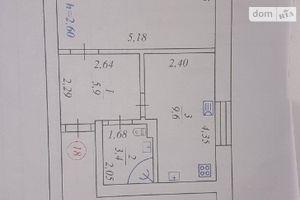 Продается 1-комнатная квартира 45 кв. м в Жмеринке