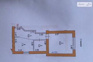 Продается 1-комнатная квартира 32 кв. м в Тернополе