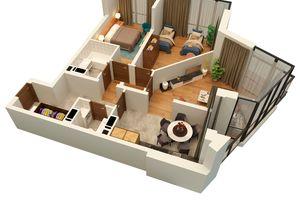 Продається 3-кімнатна квартира 83 кв. м у Львові