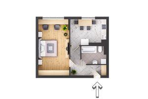 Продается 1-комнатная квартира 49.7 кв. м в Трускавце