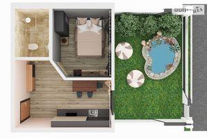 Продается 1-комнатная квартира 28.4 кв. м в Киево-Святошинске