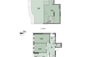 Продается 3-комнатная квартира 114.04 кв. м в Вышгороде