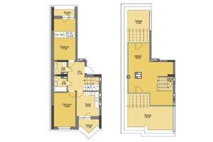 Продается 3-комнатная квартира 115.07 кв. м в Вышгороде