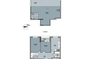 Продается 3-комнатная квартира 111.28 кв. м в Вышгороде