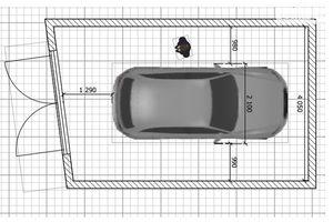 Продается отдельно стоящий гараж под легковое авто на 25.8 кв. м