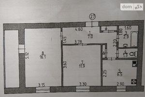 Продается 2-комнатная квартира 49.5 кв. м в Изюме