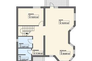 Продается дом на 2 этажа 208.4 кв. м с балконом
