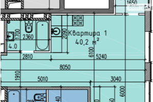 Продается 1-комнатная квартира 45 кв. м в Запорожье